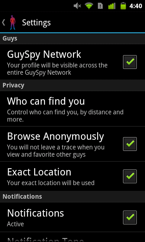 GuySpy gay dating & video chat - screenshot