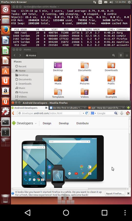 aSPICE Pro Secure SPICE Client - screenshot