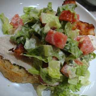 Deconstructed Club Sandwich Salad