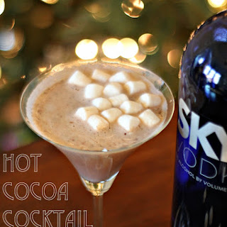 Hot Chocolate Cocktails.