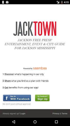 Jacktown - Jackson Events