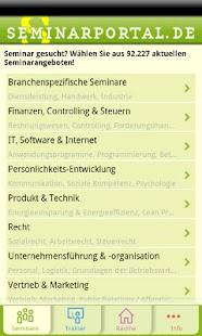 Seminarportal- screenshot thumbnail