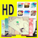 HD high definition wallpapers icon