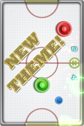 Glow Hockey 2- screenshot