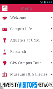 Visit UNM- screenshot thumbnail