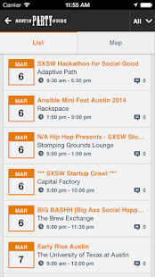 Austin Party Guide - screenshot thumbnail