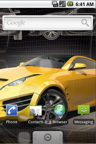 免費個人化App|Live Wallpaper Sports Car Free|阿達玩APP