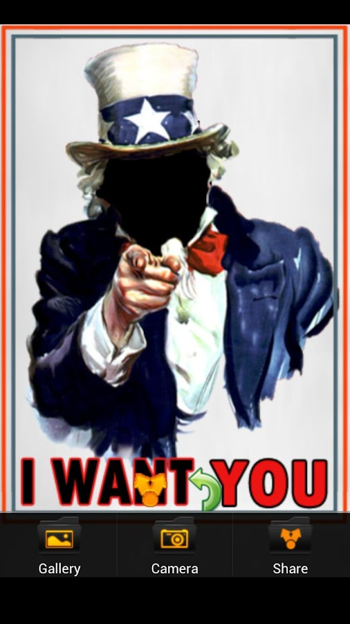 I WANT YOU Uncle Sam- screenshot