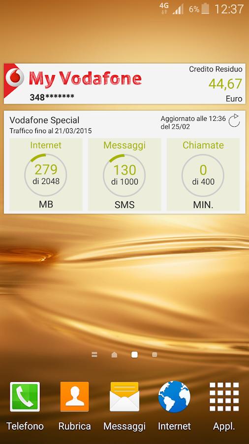 My Vodafone - screenshot