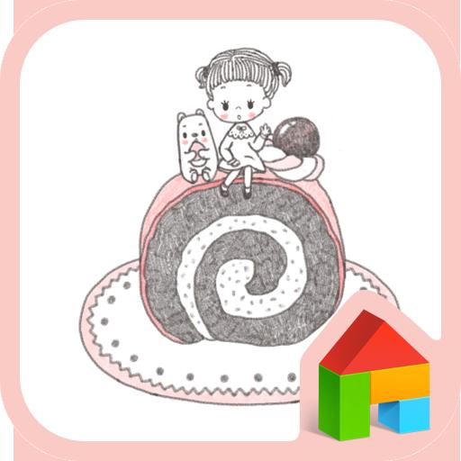 안나벨라(케이크삼매경) 도돌런처 테마 LOGO-APP點子