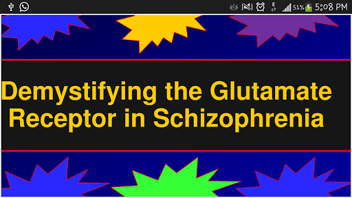 Psychiatry: Role of Glutamate