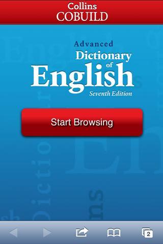 COBUILD Advanced Dictionary