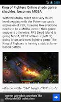 Screenshot of Computer Games News