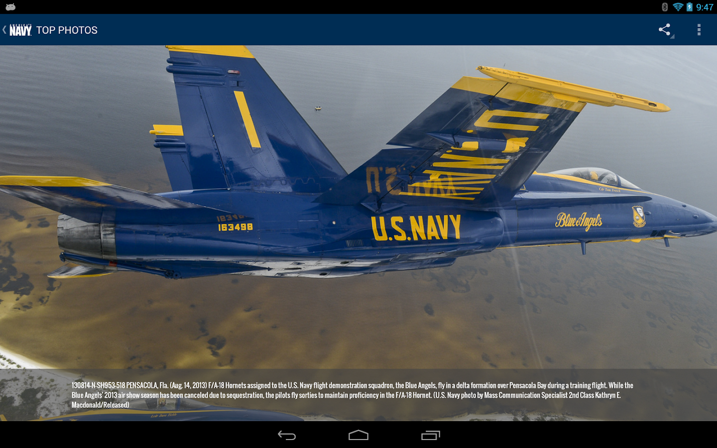 The Official U.S. Navy App- screenshot