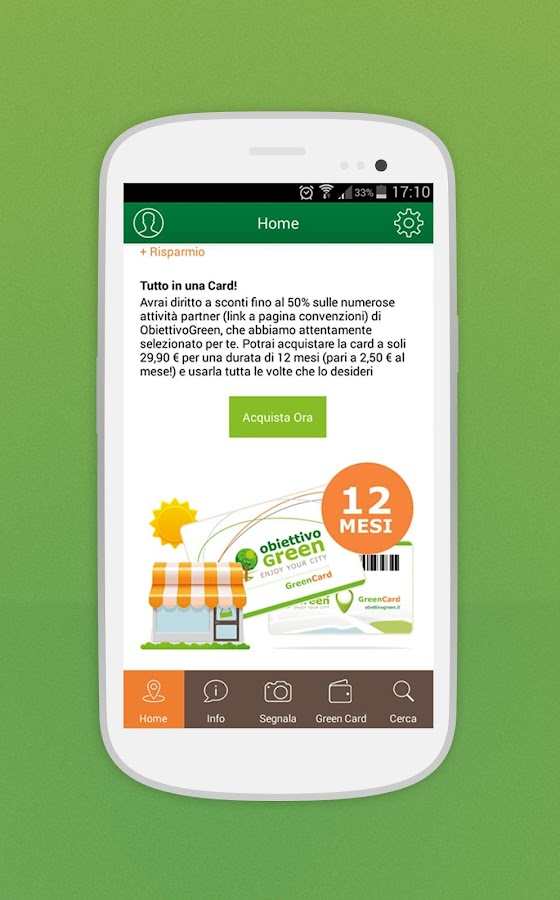 Obiettivo Green- screenshot