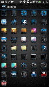 Vox Blue Theme (Apex Nova ADW) v1.0