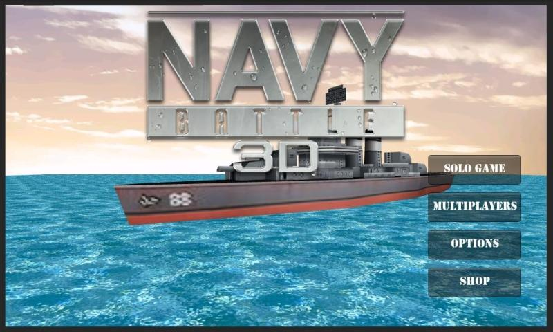 Navy Battle 3D - screenshot