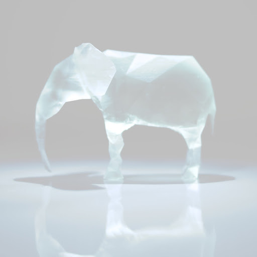 Polygon Elephant