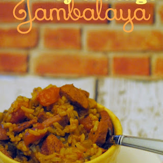 Lean Turkey Sausage Jambalaya.