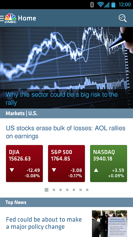 CNBC - screenshot