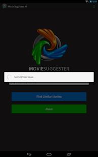 Movie Suggester AI - screenshot thumbnail