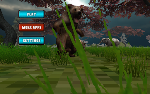 Bear Jungle Attack