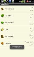 Screenshot of Crop Alarm