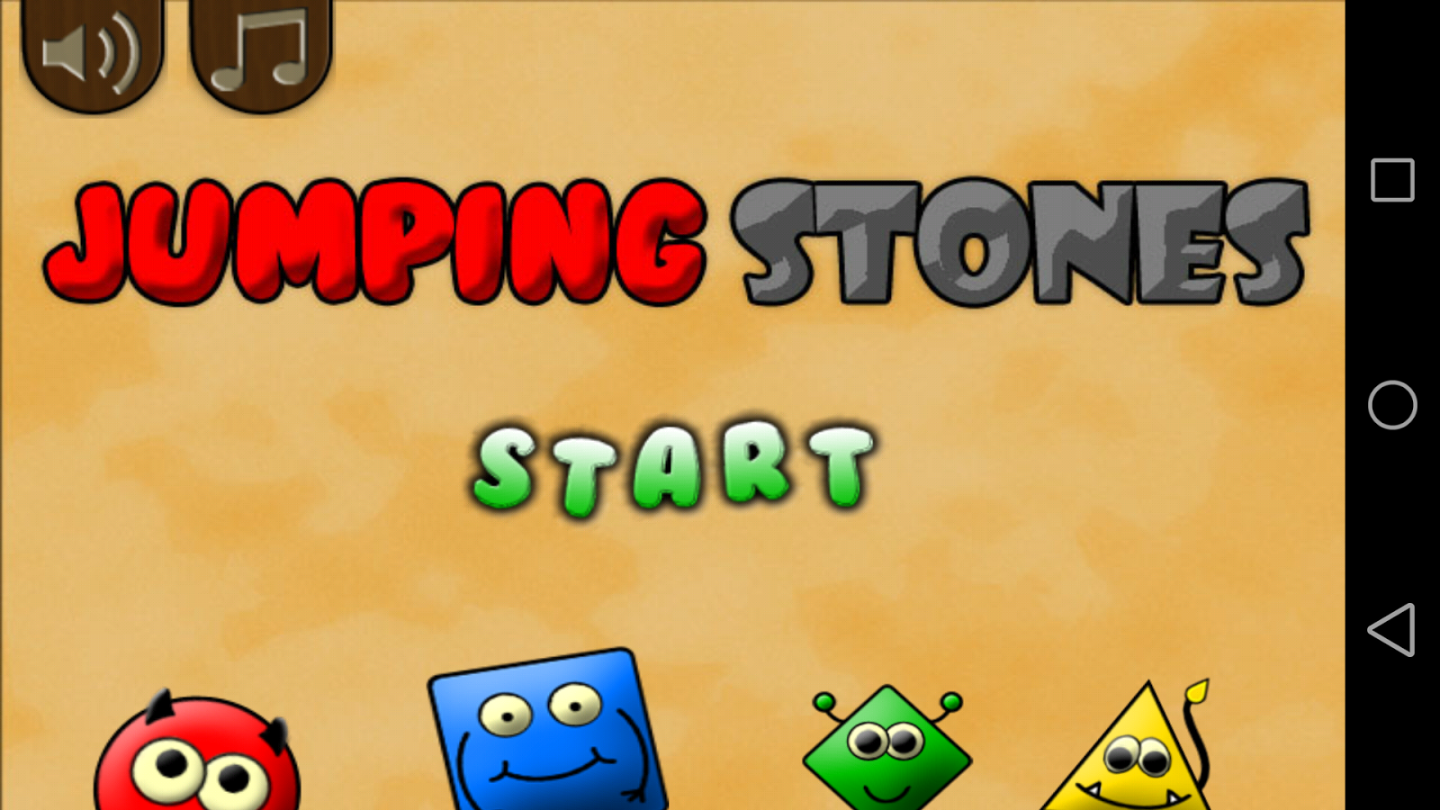 Jumping Stones (logic)- screenshot