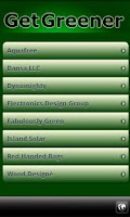 Screenshot of Go Green Eco-Directory
