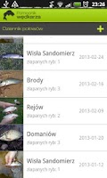 Screenshot of Pomocnik Wędkarza