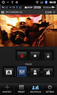 JVC CAM Control Single - screenshot thumbnail