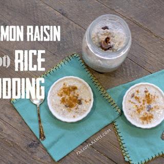 Cinnamon Raisin (not) Rice Pudding by Cole