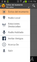 Screenshot of Mobzilla Radio