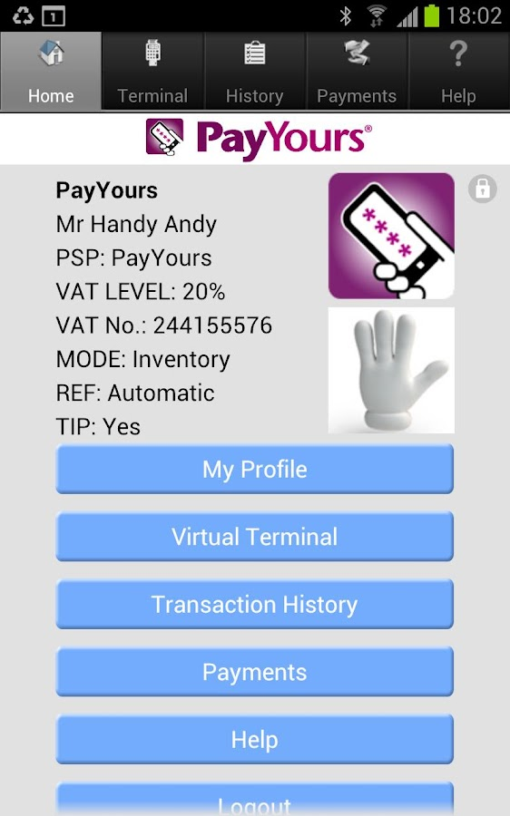 PayYours - screenshot