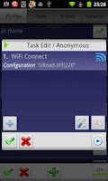 Screenshot of WiFi Connect for tasker