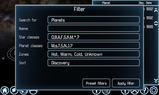 Exoplanet Explorer - screenshot thumbnail