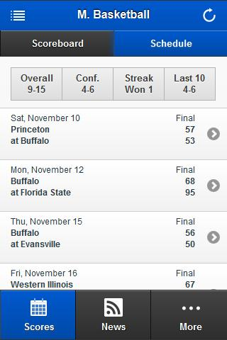 Buffalo Bulls Front Row - screenshot