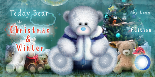 Christmas Winter Teddy