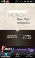 Screenshot of FCS i-Guest Hotels Finder