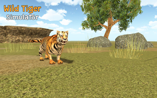 Wild Tiger Simulator 3D Games (apk) free download for Android/PC/Windows screenshot