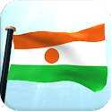 Niger Flag 3D Live Wallpaper icon