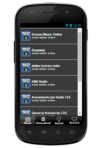 Korean Music Online