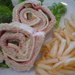 Sandwich Pinwheels.