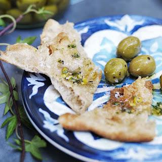 Flatbread with Olive Oil and Sea Salt