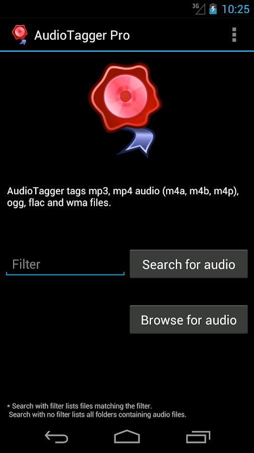 AudioTagger - Tag Music - screenshot