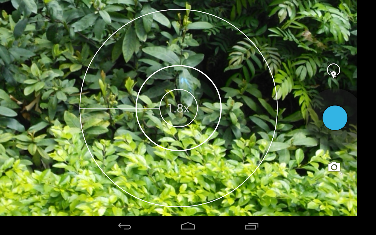 Screenshots of HD Camera for Android for iPhone