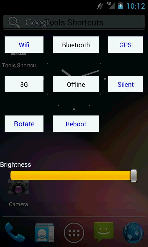 Wifi Bluetooth GPS Brightness - screenshot