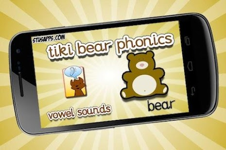 Tiki Bear Phonics Vowel Sounds - screenshot thumbnail