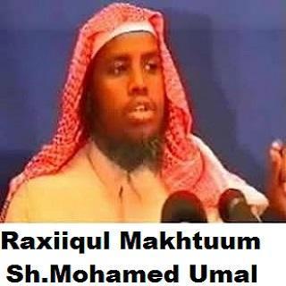 Raxiiqul Makhtuum - Somali