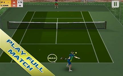 Cross Court Tennis Free Screenshot 1